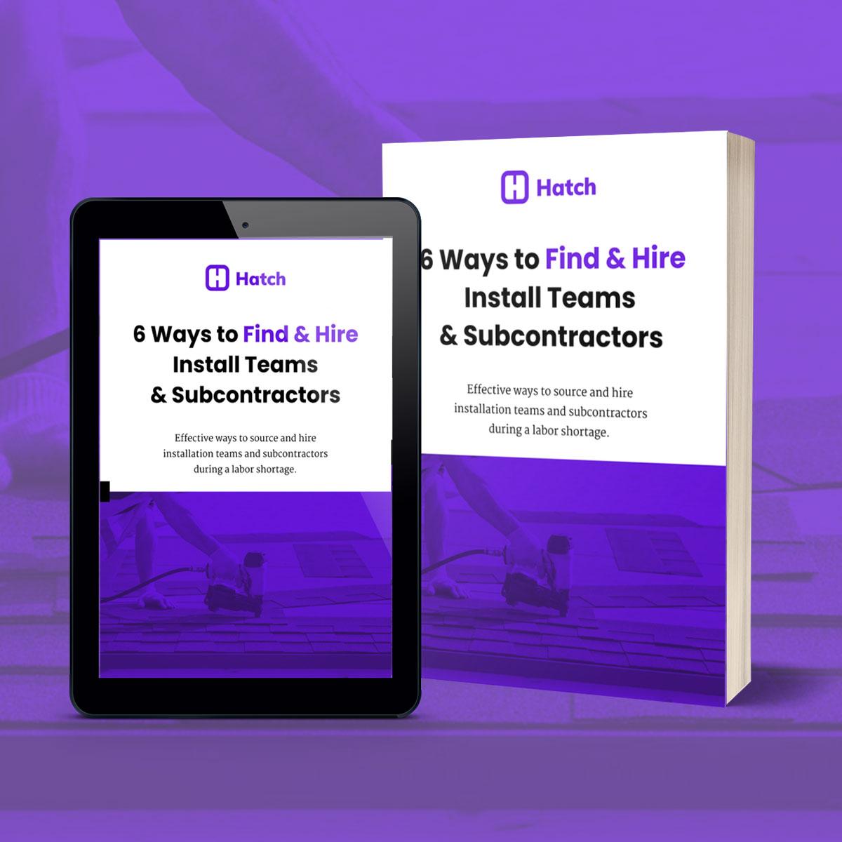 6 Ways To Find & Hire Install Teams & Subcontractors